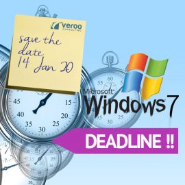 Am 14. Januar 2020 endet der Support für Windows 7 !