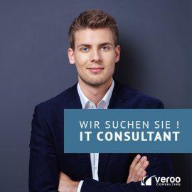 GESUCHT: IT-Consultant (m/w/d)