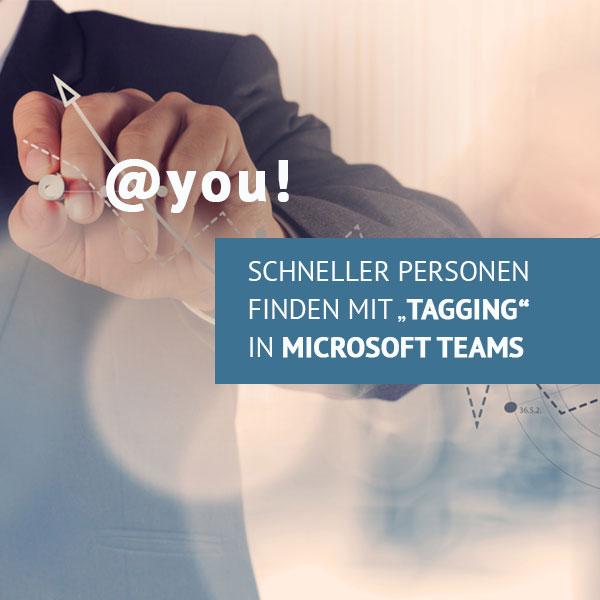 Tagging in MS Teams