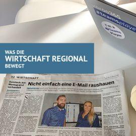 New Work – Wirtschaft Regional und SDZ Interview
