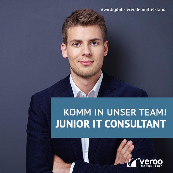 STELLENANZEIGE: Junior IT Consultant (m/w/d)
